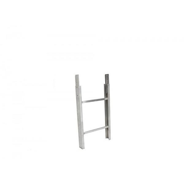 Extra Alu-ladderelement 1 meter voor GEDA
