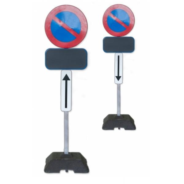 Verkeersborden voor parkeer / stationeerverbo...