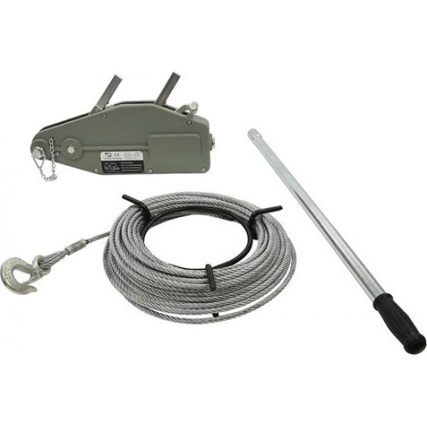 Stalen kabel 20 m voor staaldraadtakel
