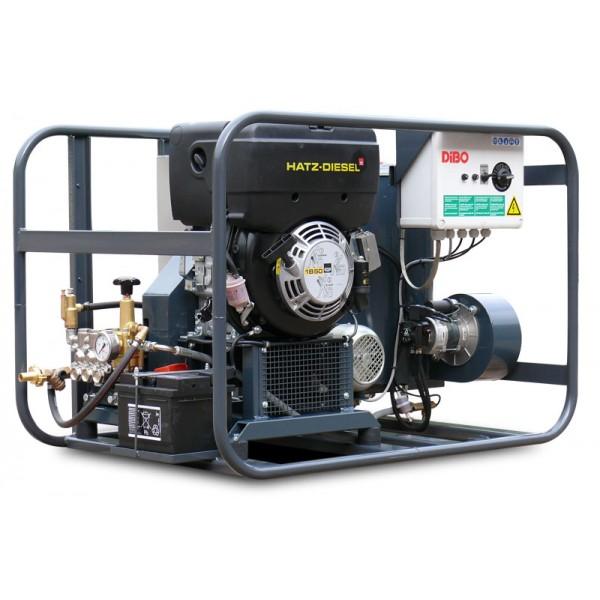 Hogedrukreiniger warm water 200 Bar– diesel