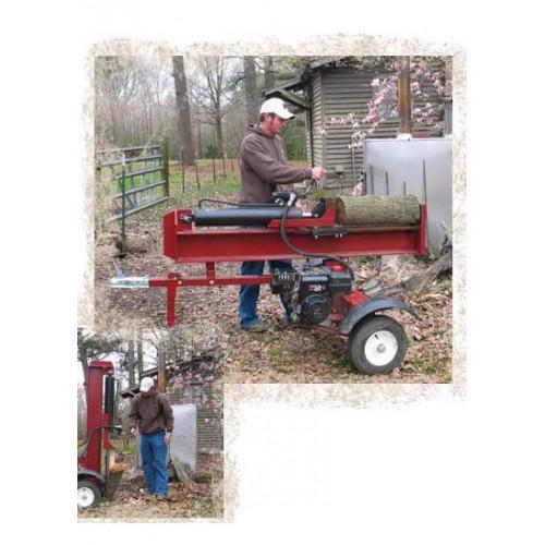 Houtkliefmachine op aanhangwagen 28 ton / 8 p...