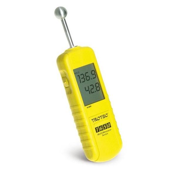 Vochtmeter T650 voor bouwmaterialen tot 3 cm