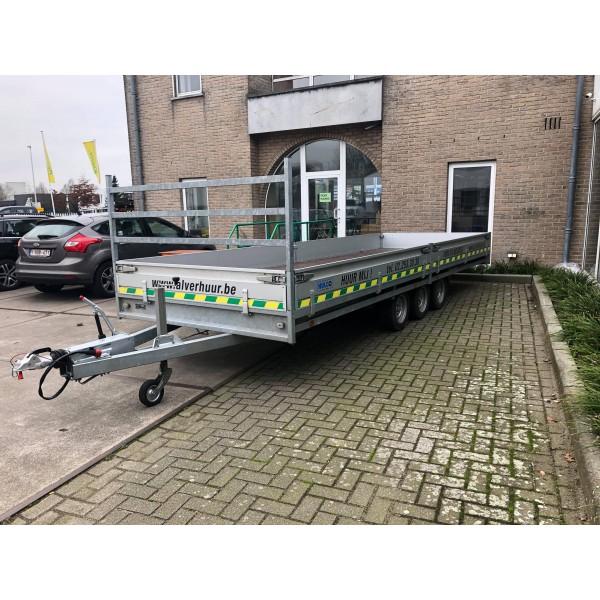 Aanhangwagen  laadvermogen 2160 kg / 6.00 m x...