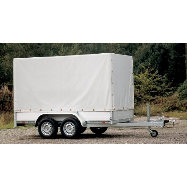 Aanhangwagen met huif laadvermogen 2385 kg / 4.00 ...