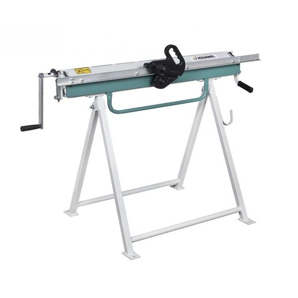 Plooi- en kraalmachine voor zink