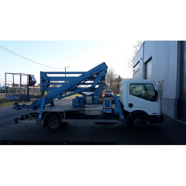 Hoogwerker CTE Z20 op bestelwagen 20 meter rijbewijs B