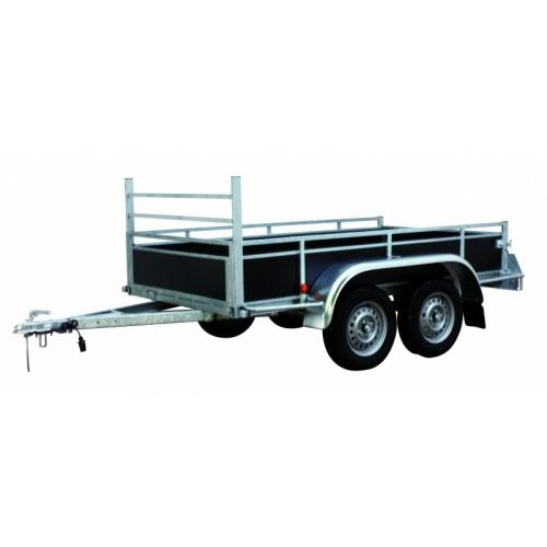 Aanhangwagen  laadvermogen 1600 kg / 3.00 m x...