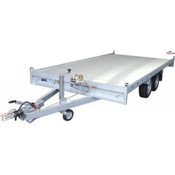 Autotransporter laadvermogen 2400 kg / 4.00 m...
