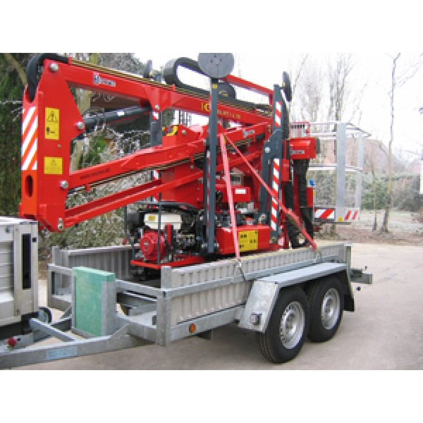 Machinetransporter laadvermogen 2800 kg / 3.10 m x...