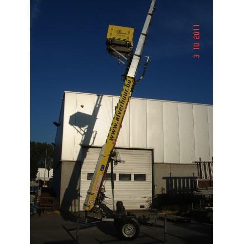 Verhuislift Easy 18 m op aanhangwagen - 220V