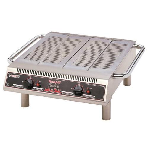 Barbecue gas vierkant model