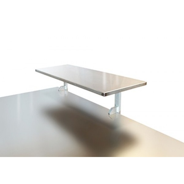 Opzetplateau RVS werktafel - 100 cm x 31 cm