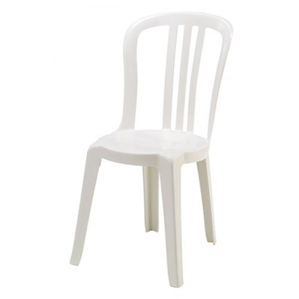 Bistro stoel - WIT