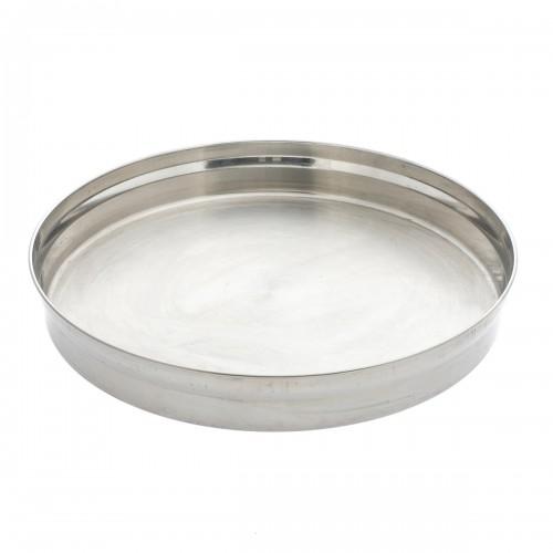 Dienblad - rond - 32 cm - inox
